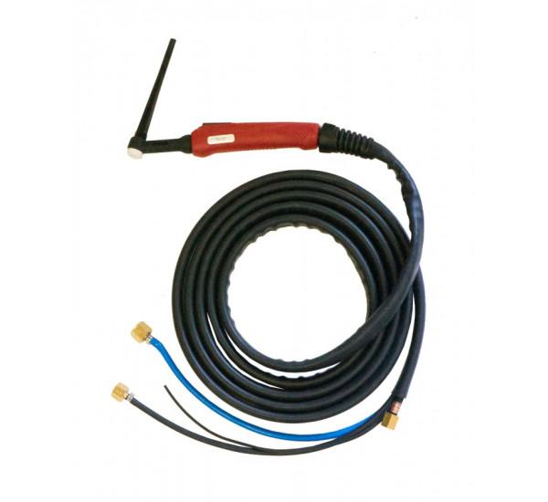 Горелка TIG SUPER TS 20 250A (100%) M12x1 газ 1/4G вода 3/8G с упр.разъёмами 2-3-5 pin