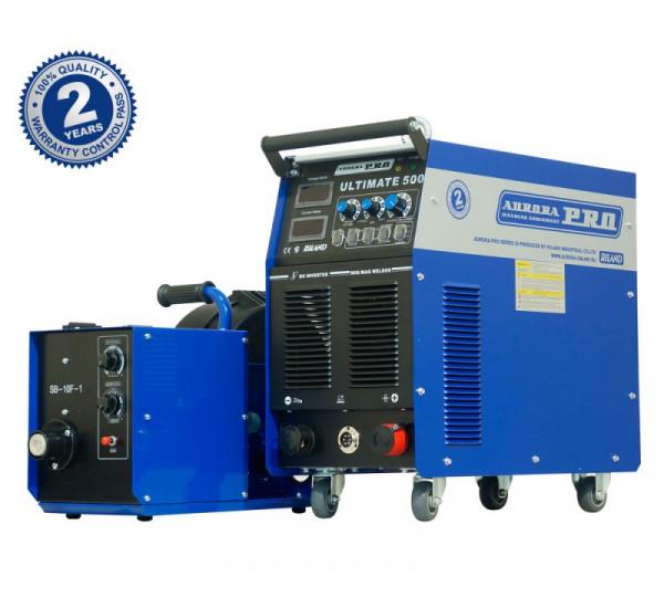 Индустриальный инверторный сварочный полуавтомат AuroraPRO ULTIMATE 500 INDUSTRIAL (MIG/MAG+MMA) НАКС
