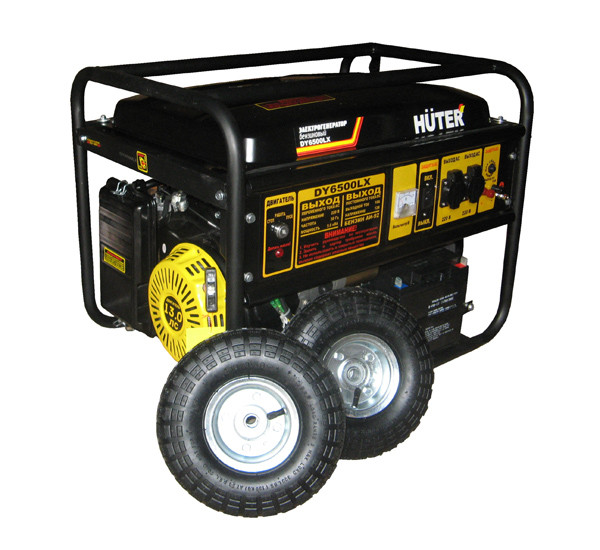 Бензиновый генератор Huter DY6500LX