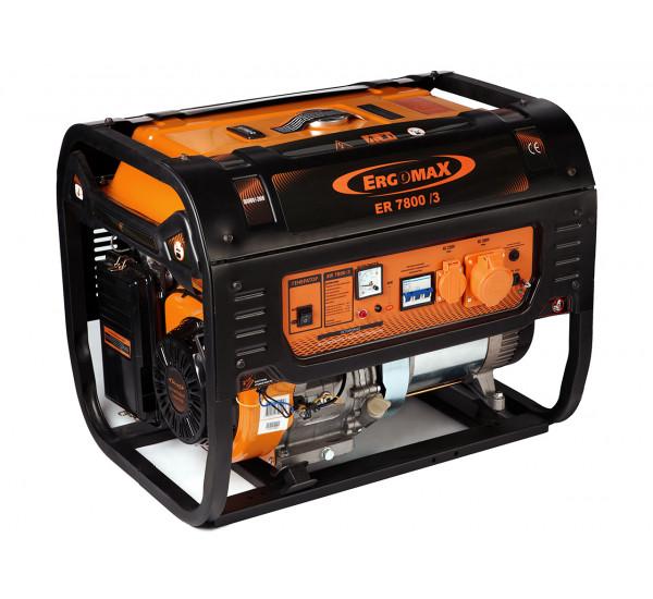 Бензиновый генератор Ergomax ER-7800Е/3