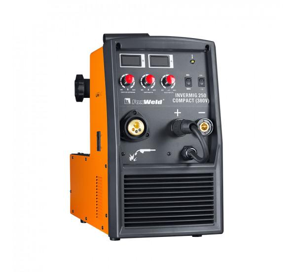 Инверторный сварочный полуавтомат FoxWeld INVERMIG 250 COMPACT (380V)