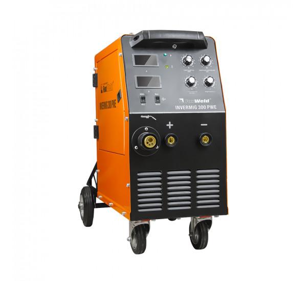 Инверторный сварочный полуавтомат FoxWeld INVERMIG 300 PWE