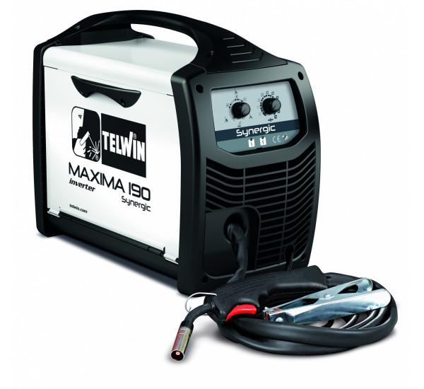 Инверторный сварочный полуавтомат Telwin MAXIMA 190 SYNERGIC 230V