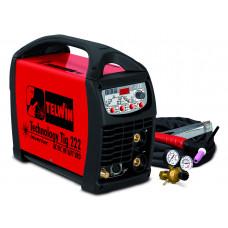 Аппарат аргонодуговой сварки Telwin Technology Tig 222 AC/DC-HF/LIFT 230V+ACC