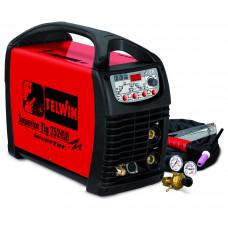 Аппарат аргонодуговой сварки Telwin SUPERIOR TIG 252 AC/DC HF/LIFT VRD 400V+ACC