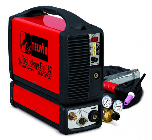 Аппарат аргонодуговой сварки Telwin TECHNOLOGY TIG 182 AC/DC-HF/LIFT 230V+AC