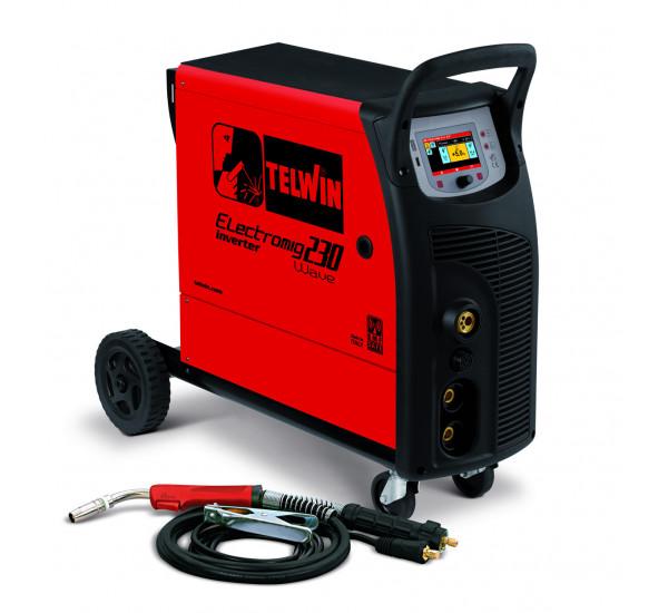 Инверторный сварочный полуавтомат Telwin ELECTROMIG 230 WAVE 400V