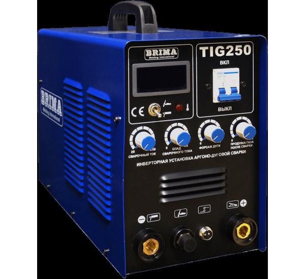 Аппарат аргонодуговой сварки BRIMA TIG-250