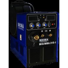 Инверторный сварочный полуавтомат BRIMA MIG-ММА-315-1