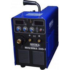 Инверторный сварочный полуавтомат BRIMA MIG-ММА-200-1