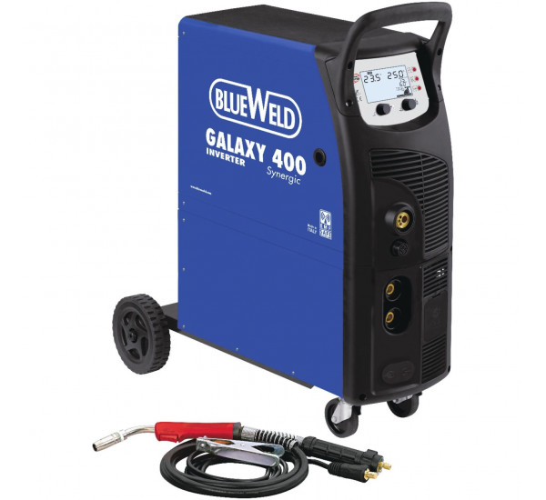 Инверторный сварочный полуавтомат BlueWeld GALAXY 400 Synergic