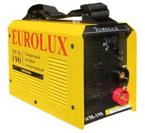 Сварочный инвертор EUROLUX IWM 190