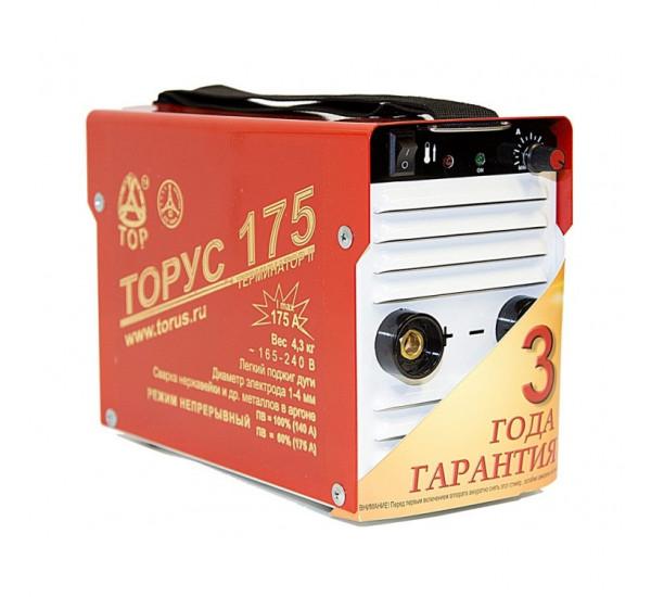 Сварочный инвертор ТОРУС 175 ТЕРМИНАТОР 2