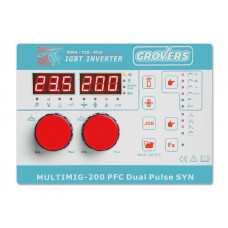 Инверторный сварочный полуавтомат GROVERS MULTIMIG 200 PFC DUAL PULSE SYN